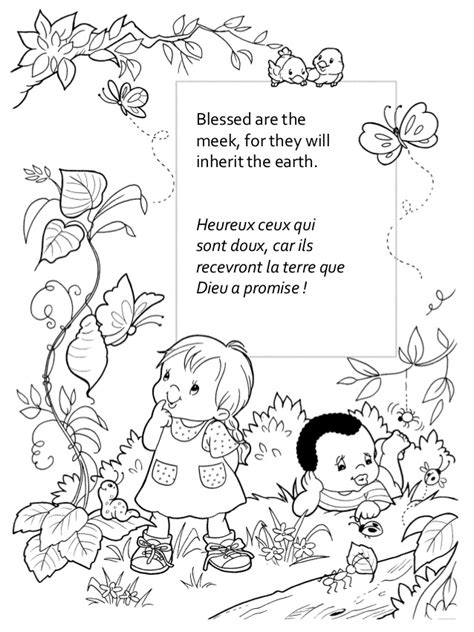mount of beatitudes coloring pages