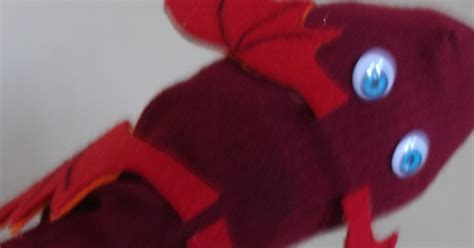 how to make a sparky sock puppet