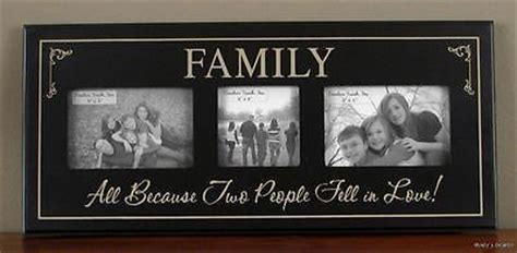 all because two fell in picture frame family picture wood photo frame all because two