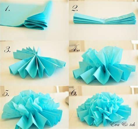 papier pompons selber machen pompoms selber machen kreative diy ideen f 252 r ihre deko