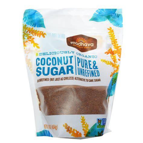Coconut Sugar Organic by Madhava Sweeteners Deliciously Organic Coconut