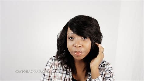 photo of invisible part in hair weave videos for getting the perfect invisible part sew in weave