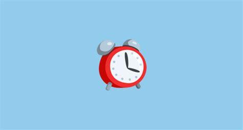 alarm clock emoji on messenger 1 0