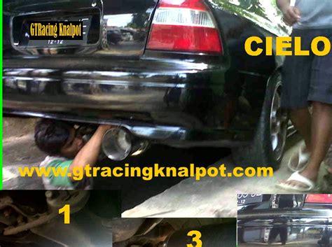 Knalpot Mobil Bolt On Honda All New Civic modifikasi knalpot racing knalpot racing honda cielo