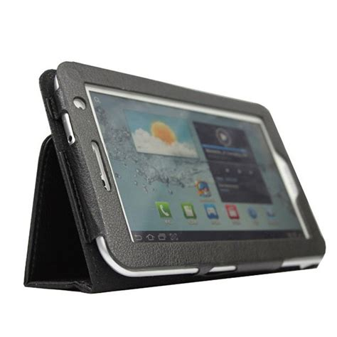 Samsung Tab P3100 leather for 7 inch samsung galaxy tab 2 p3100 p3110 ad ebay