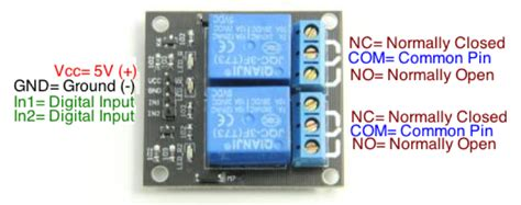 tutorial arduino relay 2 channel relay module summerfuel robotics
