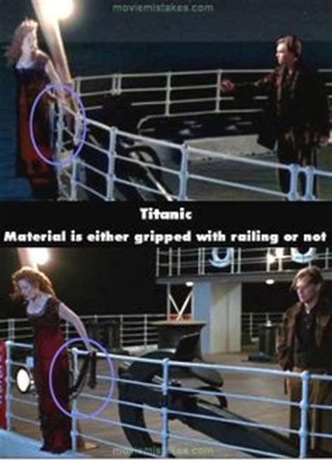titanic film bloopers 1000 images about movie mistakes on pinterest movie