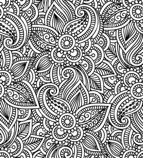 patterns in java by mark grand mendi style floral seamless pattern royalty free vector