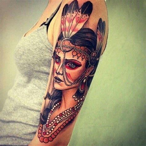 tattoo inspiration indienne tatouage indien l am 233 rique sur la peau tattoome le