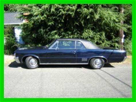 64 Pontiac Lemans by Sell Used 64 Pontiac Lemans Convertible 3 26l Automatic