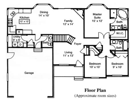 reverse ranch house plans ranch house plan chp 39951 at coolhouseplans com