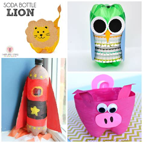 Soda Bottle Craft Ideas For To Make Crafty Morning