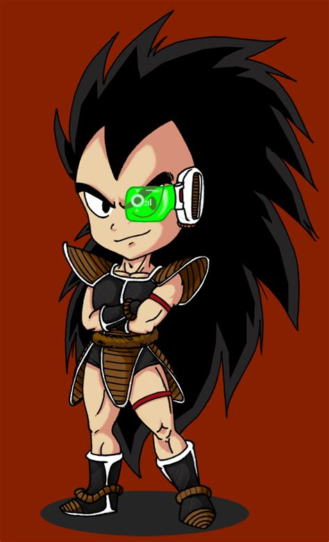 dragon ball z chibi wallpaper chibi raditz by vejit on deviantart