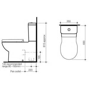 Australian Plumbing Standards by Toilet Dimensions From Wall Pictures To Pin On