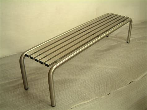ss bench stainless steel bench with brush finish