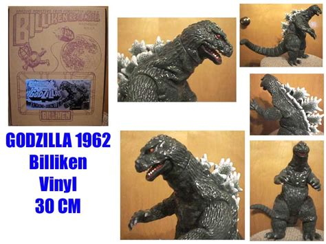 billiken godzilla 1962 kaijukits collection ghostlord