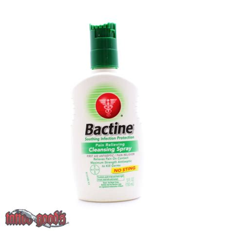 bactine for tattoos bactine 150 ml