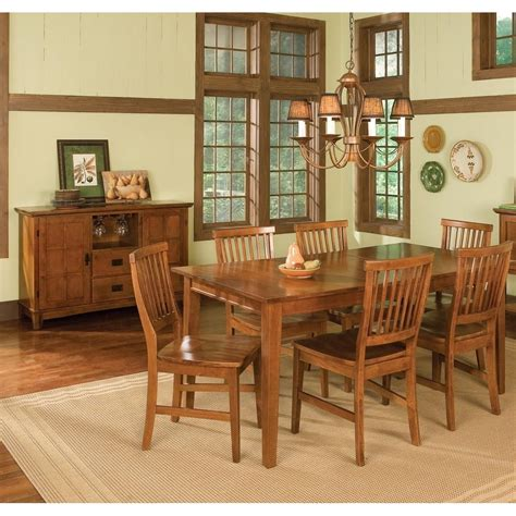 arts and crafts dining room set arts and crafts dining