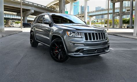 jeep cherokee black with black rims matte black rims jeep grand cherokee images