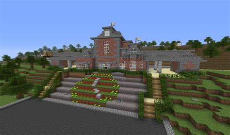 Farm House Minecraft by Michael Jackson S Neverland Valley Ranch Minecraft Project