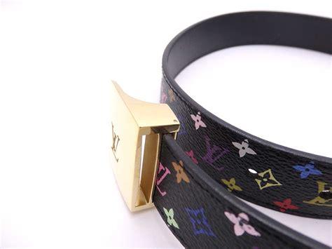 Branded Mug Lv Multicolor auth louis vuitton multicolor monogram ceinture belt size 75 30 black e28289 ebay