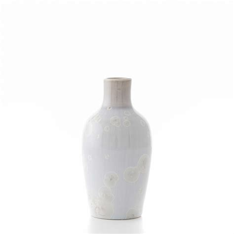Simon Pearce Vase by Contour Bud Vase By Simon Pearce
