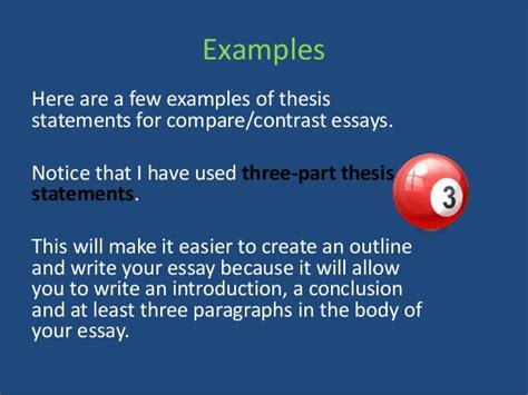 Thesis Statement Generator For Compare And Contrast Essay by Thesis Statement For A Comparison And Contrast Paper Writefiction581 Web Fc2