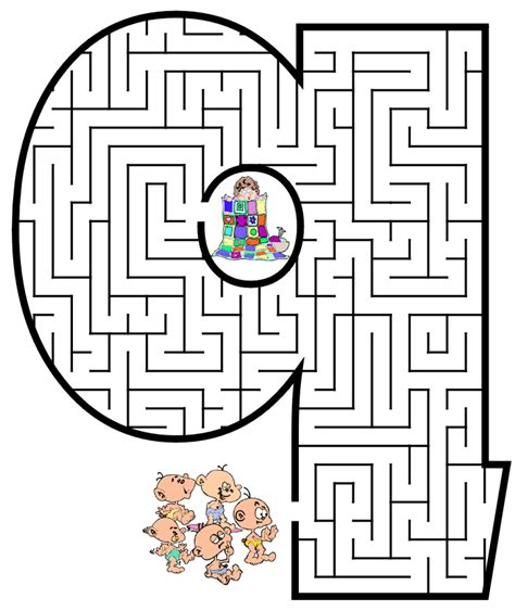 printable alphabet maze free printable maze for kids lowercase letter q
