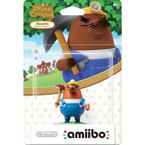 Nintendo Amiibo Figures Kapp N Animal Crossing Series nintendo resetti amiibo figure animal crossing series