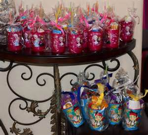 frozen goodie bags birthday party