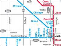 Chicago Blue Line Map by Blue Line Chicago Train Galleryhip Com The Hippest