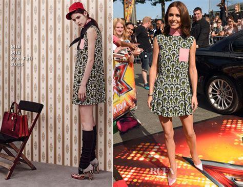 In Cheryl Coles Closet Miu Miu by Cheryl Fernandez Versini In Miu Miu X Factor