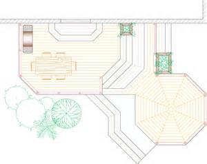 Deck Plans Com Planters Diy Deck Plans