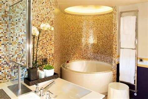 Ideas For Bathroom Remodel Bathroom Remodel With Mosaic Tile Throughout By