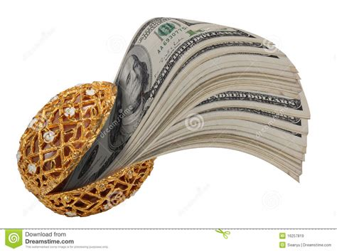 Nbc Shells Out Money For Royalty by Money In Gold Shell Stock Image Image Of Shell Golden