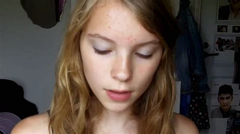 amature 14yo 13 year old makeup tutorial youtube