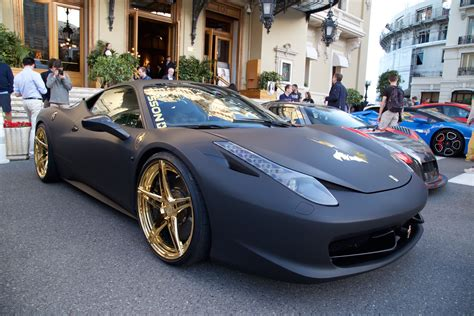 gold and black ferrari will rockstar ever let us put gold rims on car vehicles