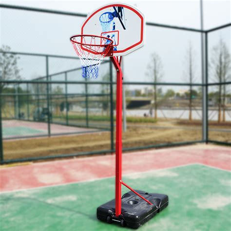 portable outdoor 8 5ft kids youth basketball court goal