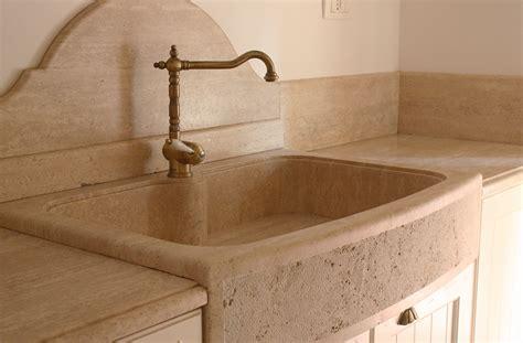 pietre d arredo interno lavello in pietra travertino di tivoli arredo interno
