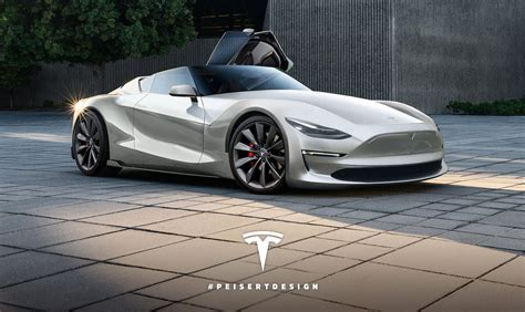 The Tesla Roadster Next Tesla Roadster Rendered