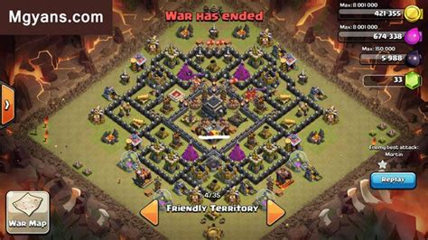 images for strongest base for clash of clans top 3 strongest th9 war base designs clash of clans