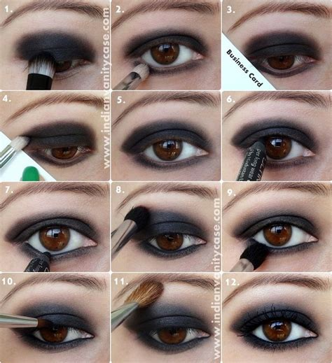 10 Brown Smokey Eye Tips by Top 10 Colors For Brown Makeup Black Eye Shadows