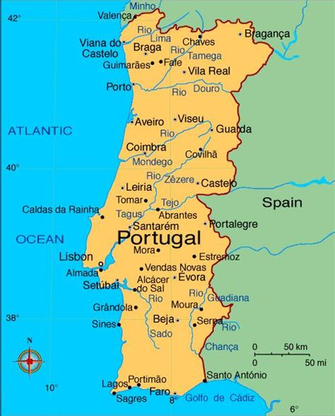 map of azores map of portugal with cities search portugal