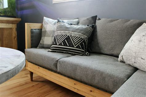 make your own couch cover build your own diy upholstered couch