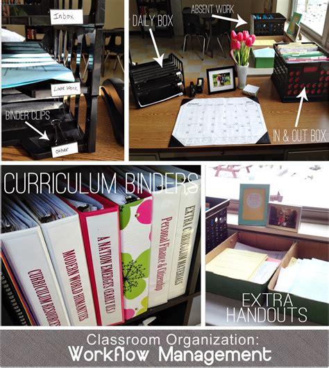 organize workflow crafty classroom organization proven