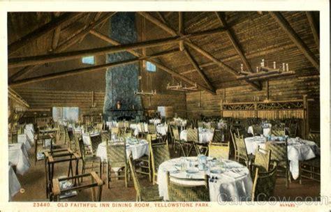 old faithful inn dining room old faithful inn dining room yellowstone national park