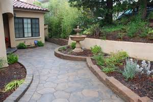 Small Garden Retaining Wall Ideas Decor Tips Front Yard With Garden Ideas And Small Retaining Walls Also Water With