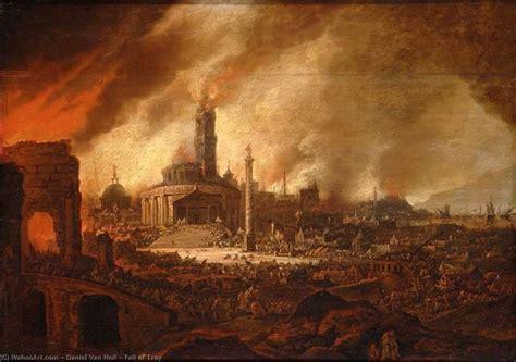 Fall Of Troy By Daniel Van Heil 1604 1664 Museum Art