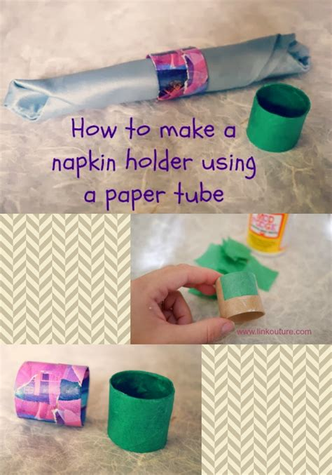 How To Make Paper Napkin Rings - how to make a paper napkin ring