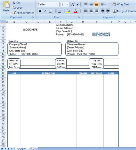generic invoice generic invoice is commonly known to be an invoice
